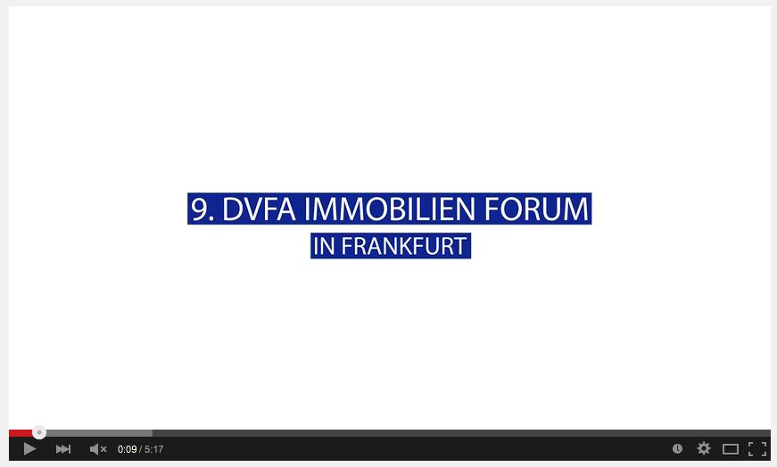 9. DVFA Immobilien Forum 2014